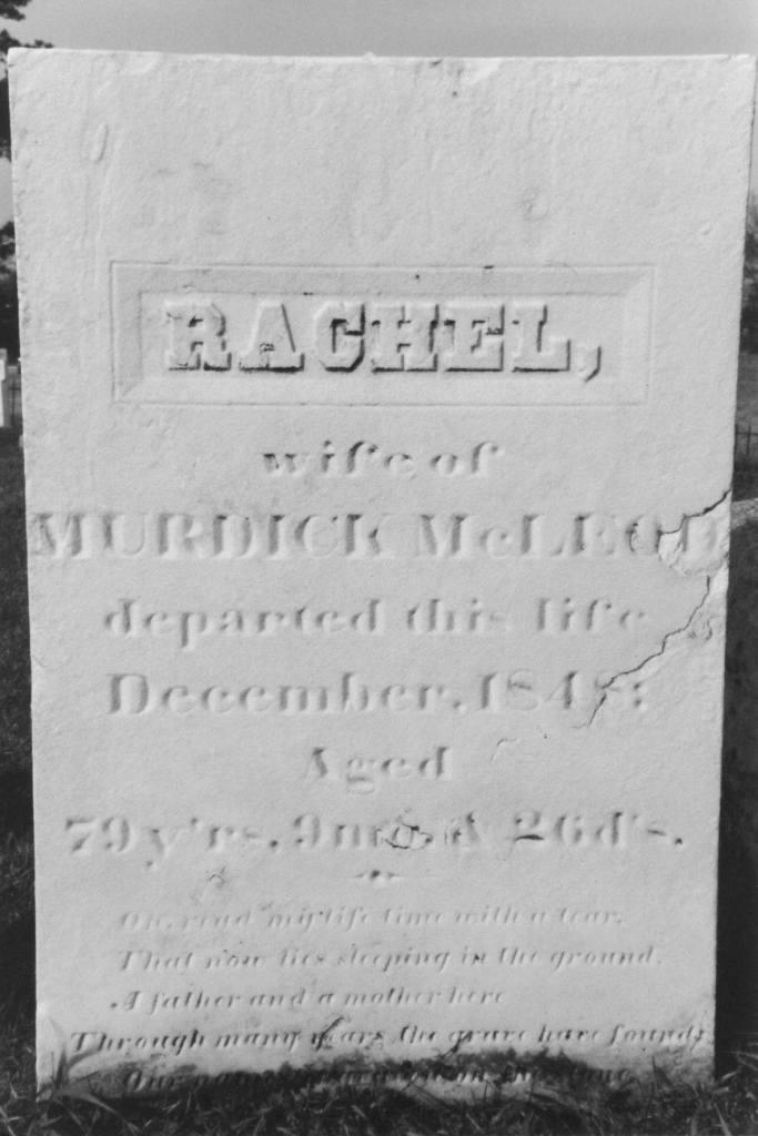 McLeod, Rachel Terry