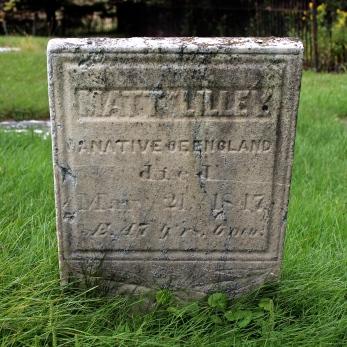 Lilley Matt Headstone2