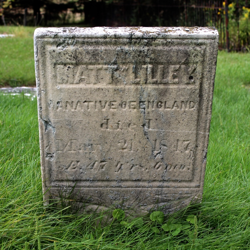 Lilley Matt Headstone2